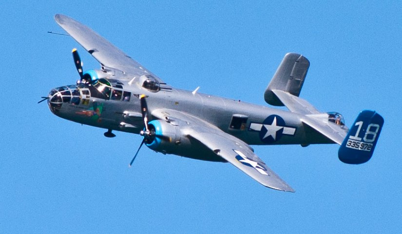 B25-WWII-bomber
